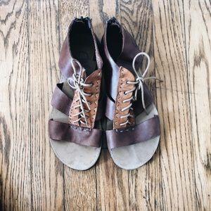 Artola Brooklyn Gladiator Leather Sandals